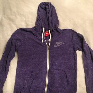 Nike Vintage Gym Full Zip Hoodie, Size Small